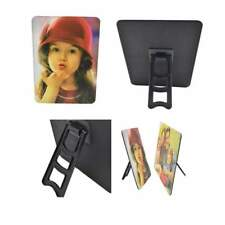"""Custom Personalised photo panel frame, PU Leather with easel, 5X7"""" or 7X5"""""""