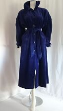 LAURA ASHLEY VINTAGE BLUE CORDUROY COAT ONE SIZE