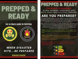 """UK Prepping. The Ultimate To Prepping. Signed by author """"Prepped and Ready"""" book"""