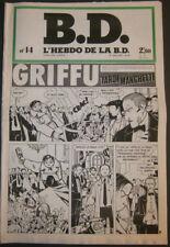 BD - L'HEBDO DE LA BD N°14 - TBE - Editions du Square - 09.01.1978