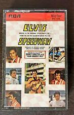 Rare Elvis Presley Speedway Soundtrack Cassette
