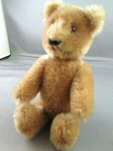 VINTAGE MINIATURE MOHAIR MECHANICAL BEAR – SCHUCO?