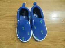 NEW OSH KOSH TODDLER BOYS AUSTIN CASUAL BLUE SLIP-ON...