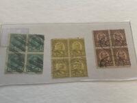 1922-25 USA Stamp Lot DA7