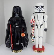 Steinbach Nutcracker Darth Vader & Stormtrooper Set Signed w/Box Good Condition