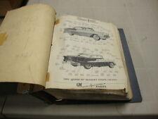 1946 1947 1948 1949 1950 1951 - 1957 Oldsmobile parts accessories  catalog  rare