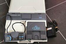 NEC PC Engine Coregrafx Console PI-TG3 and IFU-30 Briefcase Interface Unit.