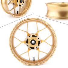 Motor Rear Wheel Disc Rotor Rim Gold for Honda CBR600RR CBR600-RR F5 2013-2018