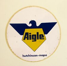 Autocollant AIGLE - Hutchinson mapa - Sticker collector  - Année 70 /80 Vintage