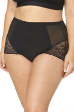 Spanx Spotlight Lace Brief Plus Size 1X All-Around Shaping Smooth Stretch Lace