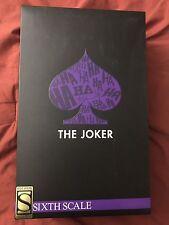 Sideshow Collectibles DC Comics Joker Exclusive 1/6 Posable Figure New