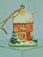 Christmas: Lilliput Lane Ornament: Santa's Workshop (L2590) Mib