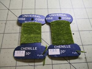 CHENILLE Universal Vice Fly Tying Jig Material NEW 151 Olive 8 Yards