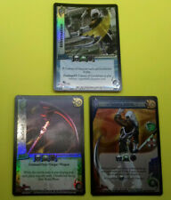 UFS Foil  Cards x3 - Soul Calibur - Zasalamel 2, Kafziel and Hibernation