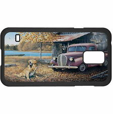 Dog With Car Hard Case Cover For Samsung New