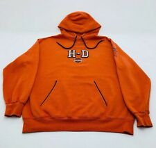 Harley Davidson Mens Size L Hoodie Pullover Casual Sweat Shirt