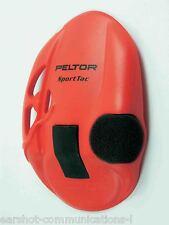 Peltor SportTac earshell en rouge 210100-478-rd nouveau par paire concessionnaire principal Peltor