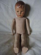 Käthe Kruse Bambola hampelchen bambola I, punto 8640 Museo 45 cm di altezza DOLL GERMANY