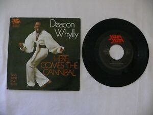 """Deacon Whylly - Here Comes The Cannibal - Sock Some Lovin´ To - 7"""" Single 7219"""