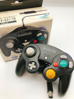 【Boxed】Nintendo Official GameCube controller Black F/S #1014B