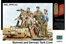 MasterBox MB3561 1/35 DAK, WWII era Rommel and German Tank Crew