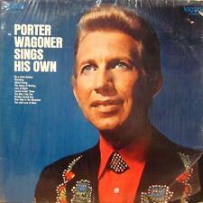 Porter Wagoner(Vinyl LP)Sings His Own-RCA-LSP 4586-USA-VG+/Ex