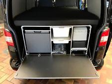 Campingbox mit Bett und Auflage für den VW T5 T6