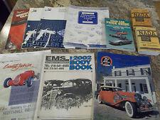 Lot of 10 Automitive Books - KRUSE Leake Dallas 97,EMS Automotive, NADA & more