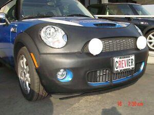 Colgan Front End Mask Bra 2pc. Fits 2007-2010 MINI Cooper S & Clubman W/O Tag
