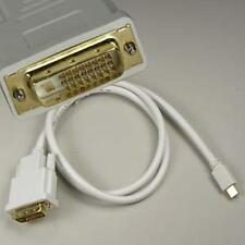 3Ft Mini Display Port DP Thunderbolt Male to DVI-D Male Cable for Macbook