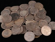 Rare 65 Piece Chinese Old Copper Casting Qing dynasty Statue Coin copper cash