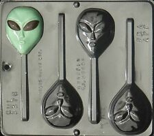 Alien Lollipop Chocolate Candy Mold  3376 NEW