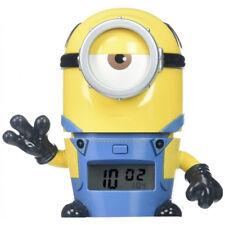 Minions sveglia per bambini Stuart Cattivissimo Me dispaly luminoso LCD snooze