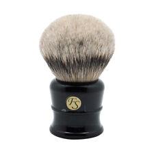 1x40MM Silvertip Badger Hair Shaving Brush w/ Faux Ebony Handle by Frank Shaving
