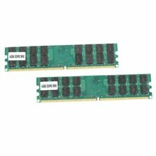 2 X 4GB 8GB PARTS-QUICK Brand Memory for ASUS P5 Motherboard P5Q-EM DDR2 800MHz PC2-6400 240 pin Desktop DIMM RAM