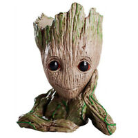 Guardians of The Galaxy Tree Man Baby Groot PVC Flowerpot Style Pen Pot Toys