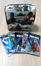 LOT 5 BOOSTERS FORTNITE 40 TRADING CARDS GAME ULTRA RARE FOIL PRISM HOLO