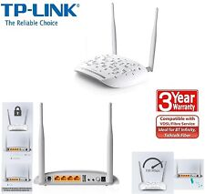 TP-LINK TD-W9970 N300 Wireless VDSL2/ADSL Modem Router 300Mbps 4-Port 1USB Port