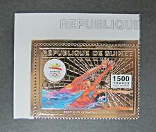 Republique De Guinée Sport  Gold Stamp MNH