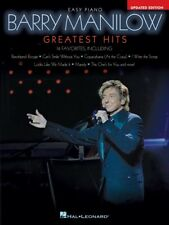 Barry Manilow Greatest Hits 2nd Edition Sheet Music Easy Piano Book 000238518