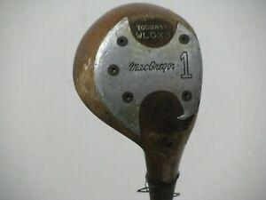 Macgregor DX Tourney WLDX3 1 Wood Driver Persimmon Regular Steel Very Nice!!