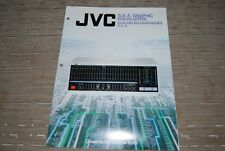 JVC Graphic Equalizer SEA-R7 SEA-80 SEA-33 SEA-40 Original Catalogue