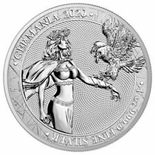 2020 Germania 1 oz Silver 5 Mark Medal Gem Brilliant Uncirculated Presale