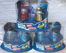 More details for doctor who 3.75 inch dalek collector sets #1 #2 and #3 - rare exclusive sets