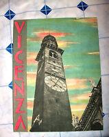 GUIDE TURISTICHE E.N.I.T. FERROVIE 1937 VICENZA