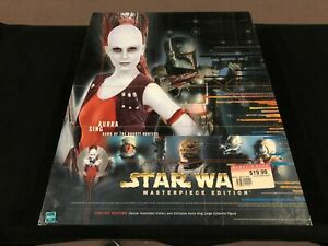 Aurra Sing Bounty Hunter Star Wars Masterpiece Edition Figure Brand New in Box