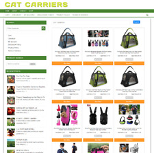 PET CAT CARRIER UK WEBSITE - ONLINE BUSINESS - 1 YEARS HOSTING - NEW DOMAIN