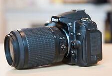 Nikon D90 12.3MP DSLR Camera w/ VR 55-200 mm Lens