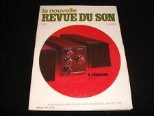 LA NOUVELLE REVUE DU SON<>DECEMBER 1982<>FRENCH AUDIO MAG.°#63°HAFLER DH110