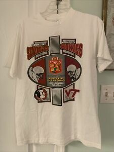 Seminoles Vs Hokies Toyota Gator Bowl 2002 - Medium - NWT